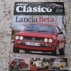 Coches y Motocicletas: MOTOR CLASICO Nº268: FERRARI 308 GTS; LANCIA BETA; CITROËN 2CV CHARLESTON; TRIVER RANA; ETC.... Lote 143111242