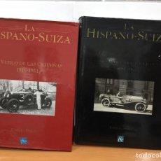Coches y Motocicletas: HISPANO SUIZA EL VUELO DE LA CIGUENA EMILIO POLO 2 VOLUMENES. Lote 143153166