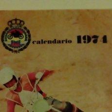 Coches y Motocicletas - FME CALENDARIO DEPORTIVO MOTOCICLISMO 1974 - REAL FEDERACION ESPAÑOLA - 143188486