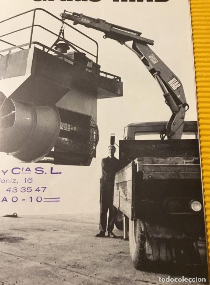 Coches y Motocicletas: Antiguo catálogo grúas hiab camión barreiros pegaso ebro - Foto 2 - 143231522
