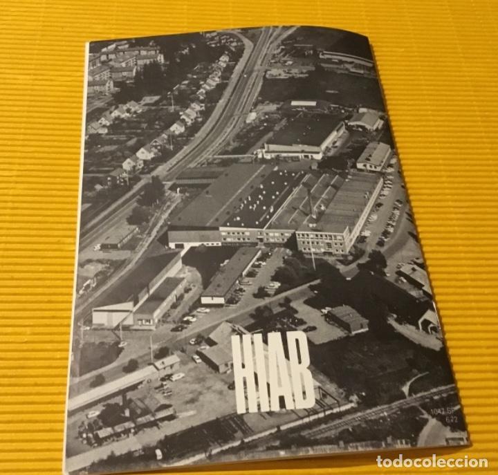 Coches y Motocicletas: Antiguo catálogo grúas hiab camión barreiros pegaso ebro - Foto 7 - 143231522