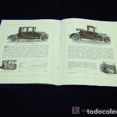 Coches y Motocicletas: CATÁLOGO COCHE STEARNS, 1917. Lote 143249310