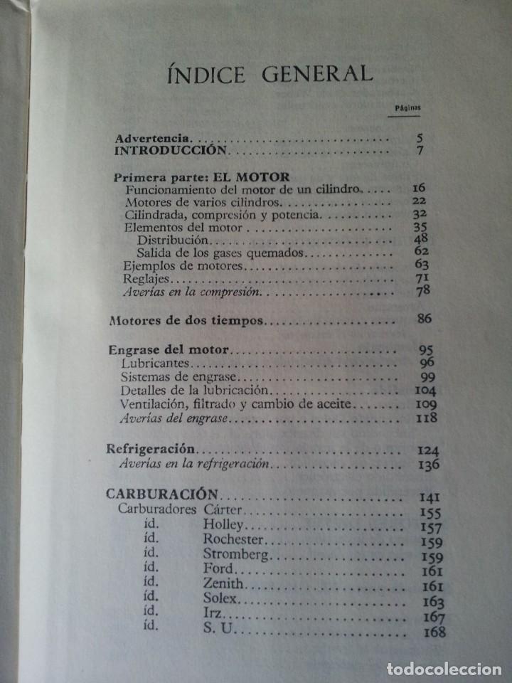 Coches y Motocicletas: MANUAL DE AUTOMOVILES, ARIAS-PAZ - 38º EDICION 1970 - Foto 7 - 143742390