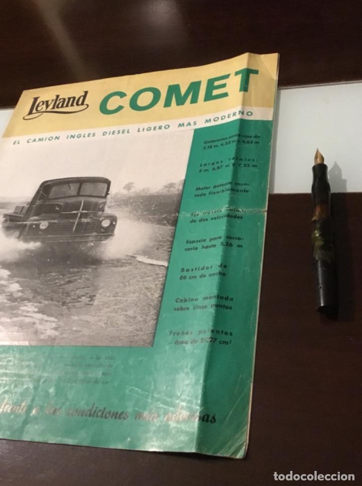 Coches y Motocicletas: Atencion antiguo catálogo camión leyland comet una joya del coleccionismo antiguo pegaso - Foto 3 - 143756810