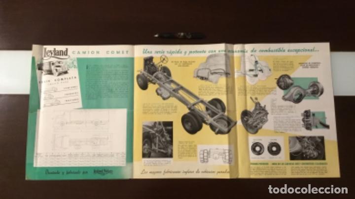 Coches y Motocicletas: Atencion antiguo catálogo camión leyland comet una joya del coleccionismo antiguo pegaso - Foto 4 - 143756810