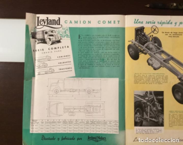 Coches y Motocicletas: Atencion antiguo catálogo camión leyland comet una joya del coleccionismo antiguo pegaso - Foto 5 - 143756810