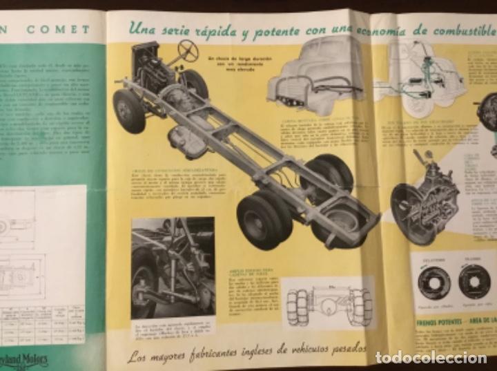 Coches y Motocicletas: Atencion antiguo catálogo camión leyland comet una joya del coleccionismo antiguo pegaso - Foto 6 - 143756810