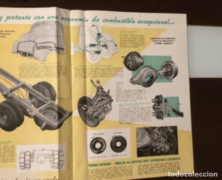 Coches y Motocicletas: Atencion antiguo catálogo camión leyland comet una joya del coleccionismo antiguo pegaso - Foto 7 - 143756810