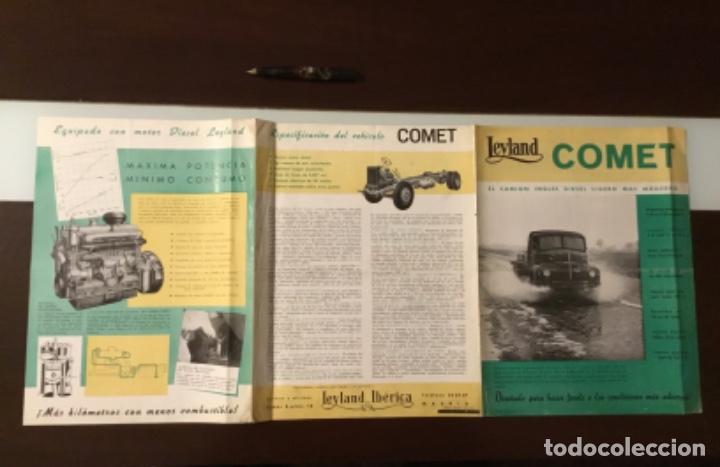Coches y Motocicletas: Atencion antiguo catálogo camión leyland comet una joya del coleccionismo antiguo pegaso - Foto 8 - 143756810