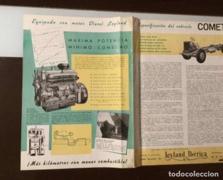 Coches y Motocicletas: Atencion antiguo catálogo camión leyland comet una joya del coleccionismo antiguo pegaso - Foto 9 - 143756810