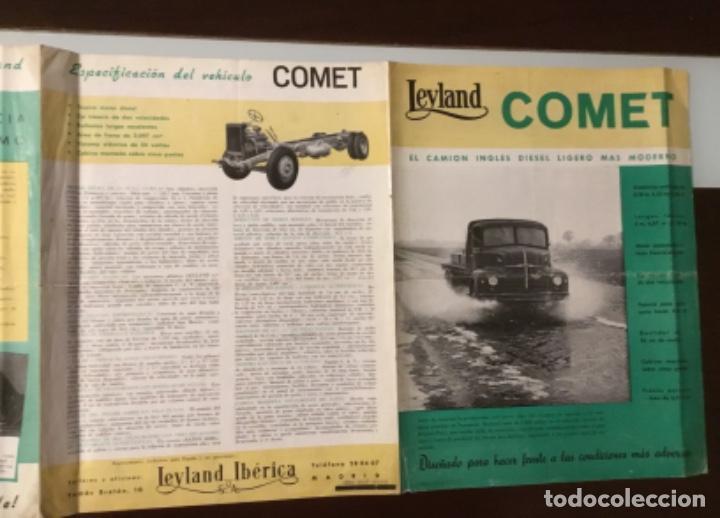 Coches y Motocicletas: Atencion antiguo catálogo camión leyland comet una joya del coleccionismo antiguo pegaso - Foto 10 - 143756810