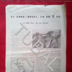 Coches y Motocicletas: TUBAL EL CABO ARGEL EN UN 2 CV 32 CM ORIGINAL DE EPOCA K1. Lote 143788522
