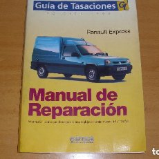 Coches y Motocicletas: MANUAL TALLER GUÍA TASACIONES RENAULT EXPRESS 1999 REPARACIÓN AUTOMÓVIL COCHE. Lote 143790354