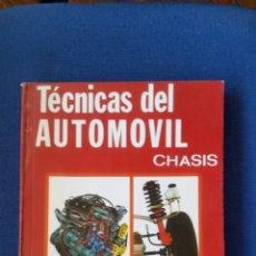 Coches y Motocicletas: TÉCNICAS DEL AUTOMOVIL CHASIS J M ALONSO PARANINFO. Lote 143870852