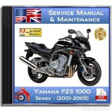 Coches y Motocicletas: YAMAHA FZS 1000 - SERIES (2001-2005) - SERVICE MANUAL - ENGLISH - DVD - PDF. Lote 143873110