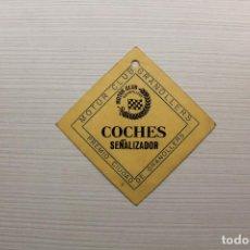 Coches y Motocicletas: MOTOR CLUB GRANOLLERS, COCHES SEÑALIZADOR, PREMIO CIUDAD DE GRANOLLERS, 7X7 CM. Lote 143877914