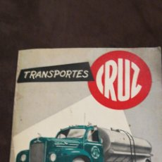 Coches y Motocicletas: PUBLICIDAD TRANSPORTES RUIZ Y VINOS. Lote 143921404