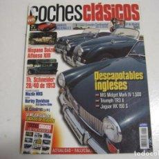Coches y Motocicletas: COCHES CLASICOS: MAZDA MX5; LINCOLN CONTINENTAL; JAGUAR XK 150; TRIUMPH TR3; MG MIDGET MARK IV; ETC.. Lote 143940274
