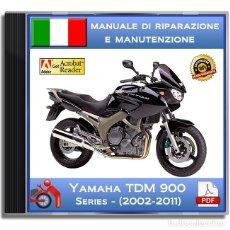 Coches y Motocicletas: YAMAHA TDM 900 - (2002-2011) - MANUALE DI RIPARAZIONE - ITALIANO - DVD - PDF. Lote 143988570