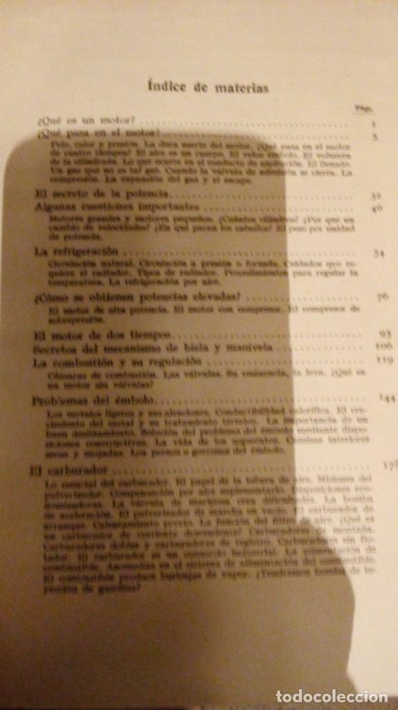 Coches y Motocicletas: Libro antiguo coches motores - Foto 38 - 91810815