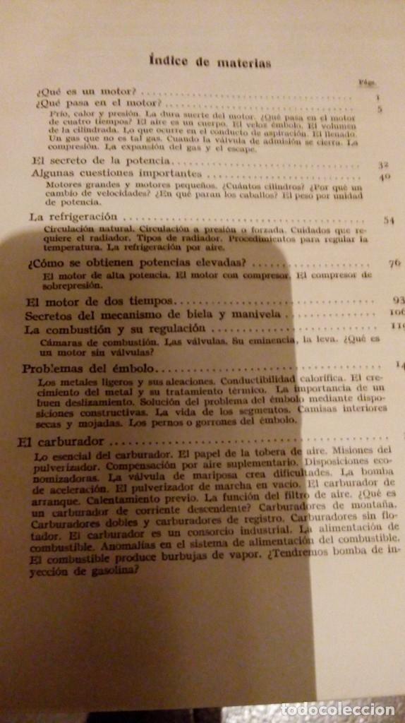 Coches y Motocicletas: Libro antiguo coches motores - Foto 40 - 91810815