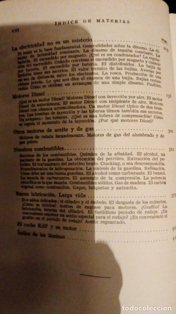 Coches y Motocicletas: Libro antiguo coches motores - Foto 41 - 91810815