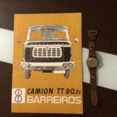Coches y Motocicletas: MUY ANTIGUO CATÁLOGO CAMIÓN BARREIROS 1960 TOTALMENTE ORIGINAL. Lote 144064306