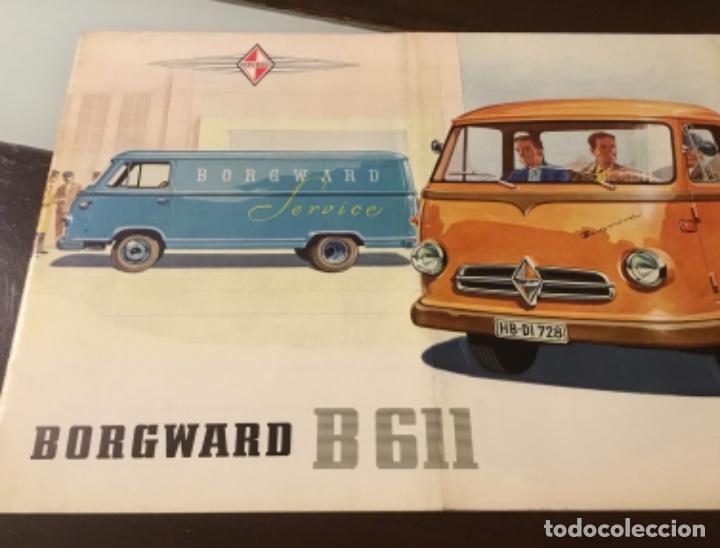 Coches y Motocicletas: Catálogo camión Borgward Perfecto estado totalmente original años 50 - Foto 2 - 144065218