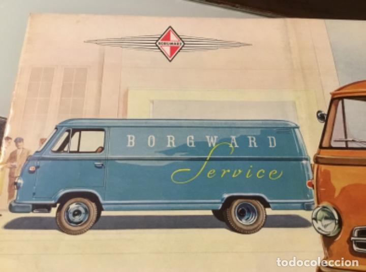 Coches y Motocicletas: Catálogo camión Borgward Perfecto estado totalmente original años 50 - Foto 3 - 144065218