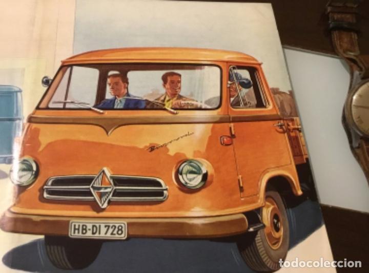Coches y Motocicletas: Catálogo camión Borgward Perfecto estado totalmente original años 50 - Foto 4 - 144065218
