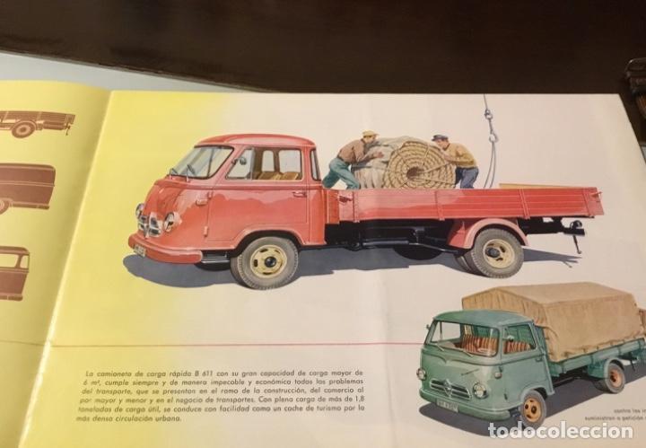 Coches y Motocicletas: Catálogo camión Borgward Perfecto estado totalmente original años 50 - Foto 6 - 144065218