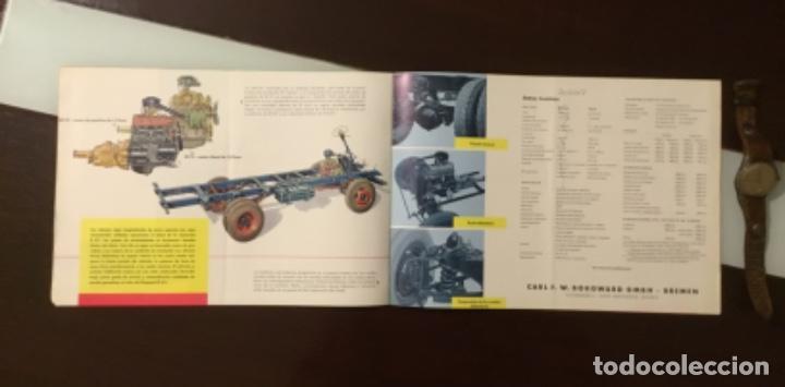 Coches y Motocicletas: Catálogo camión Borgward Perfecto estado totalmente original años 50 - Foto 12 - 144065218