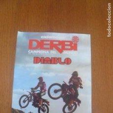 Coches y Motocicletas: CICLOMOTOR DERBI-PARA HACER DIABLURAS. Lote 144110870