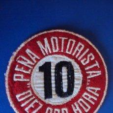 Coches y Motocicletas: (MOT-181234)PARCHE PEÑA MOTORISTA DIEZ POR HORA. Lote 144196738