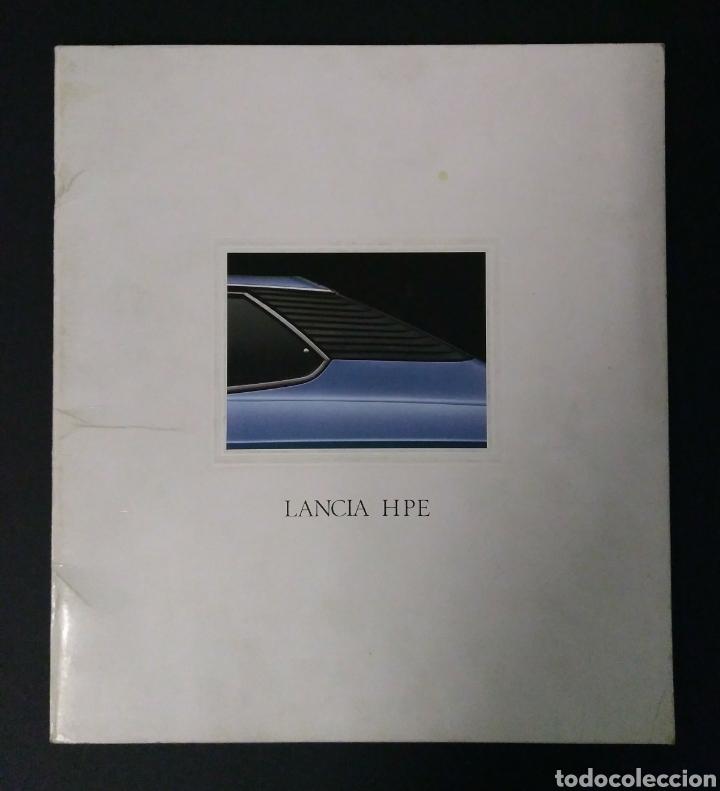 LANCIA HPE - CATÁLOGO (Coches y Motocicletas Antiguas y Clásicas - Catálogos, Publicidad y Libros de mecánica)
