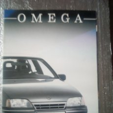 Coches y Motocicletas: OPEL OMEGA-CATALOGO PUBLICITARIO-1989-TODOS LAS MODELOS DE ESE AÑO-ESPAÑOL-. Lote 144224306