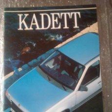 Coches y Motocicletas: OPEL KADETT-CATALOGO PUBLICITARIO- 1989-TODOS LAS MODELOS DE ESE AÑO-ESPAÑOL-. Lote 144225078