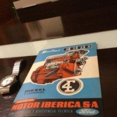 Coches y Motocicletas: ANTIGUO CATÁLOGO CAMIÓN EBRO MOTOR IBÉRICA FORD EXCELENTE ESTADO COMO NUEVO. Lote 144295258