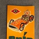 Coches y Motocicletas: CAP. GUÍA DE ASISTENCIA Y PROTECCIÓN. EDICIÓN XLV (A.1970). Lote 144811992