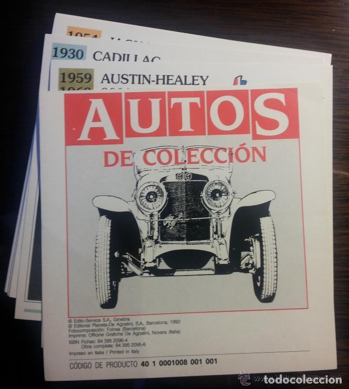 COLECCIÓN COMPLETA AUTOS DE COLECCIÓN PLANETA AGOSTINI (Coches y Motocicletas Antiguas y Clásicas - Catálogos, Publicidad y Libros de mecánica)