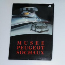 Coches y Motocicletas: MUSEE PEUGEOT SOCHAUX. CATALOGO. TDKR13. Lote 145152586