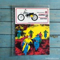 Coches y Motocicletas: FOLLETO MONTESA CAPPRA MX 125. Lote 145316837