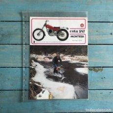 Coches y Motocicletas: FOLLETO MONTESA COTA 250 SEGUNDA SERIE. Lote 145316946