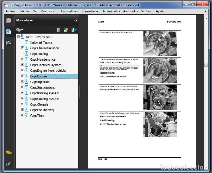 piaggio beverly 500 service repair manual pdf
