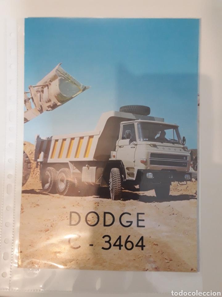 BARREIROS DODGE 3464 (Coches y Motocicletas Antiguas y Clásicas - Catálogos, Publicidad y Libros de mecánica)