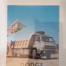 Coches y Motocicletas: BARREIROS DODGE 3464. Lote 145747264