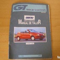 Coches y Motocicletas: MANUAL TALLER GUÍA TASACIONES FIAT PUNTO CABRIO 1996 REPARACIÓN AUTOMÓVIL COCHE. Lote 145824150