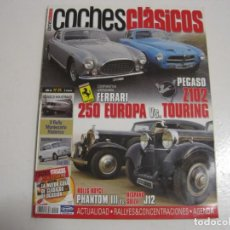 Coches y Motocicletas: COCHES CLASICOS: SEAT 800; PEGASO Z102; FERRARI 250; HISPANO SUIZA J12; ROLLS ROYCE PHANTOM III; ETC. Lote 146042146