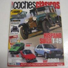 Coches y Motocicletas: COCHES CLASICOS: VW CORRADO; HISPANO SUIZA T49; RICART; SEAT RONDA; BARREIROS; SAAB 97 SONET; KARMAN. Lote 146044634