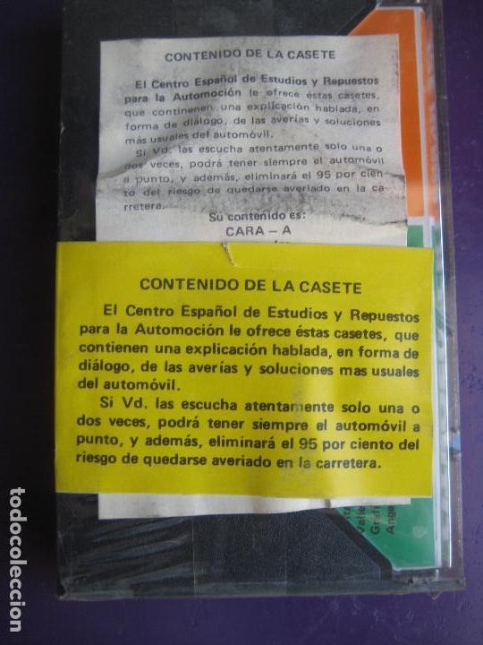 Cars and Motorcycles: CASETE PRECINTADA BRICOLAGE AUTOMOVIL COCHE CITROEN CX - ESCAMILLA - FINALES 70 PRIMEROS 80 - Foto 2 - 146585252